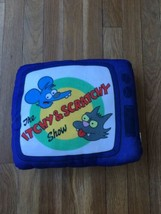2016 The Itchy and Scratchy Show Plush Pillow Universal Studios - The Simpson - $14.99