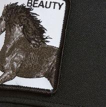 Goorin Bros Snapback Mesh Cap Black Beauty Stallion Horse Trucker Hat 101-0650 image 3