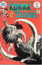 Korak, Son of Tarzan Comic Book #57, DC Comics 1975 VERY GOOD- - $3.25