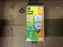 75 Watt spiral light bulb, GE electric - $7.42