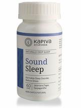 KAPIVA SOUND SLEEP CAPSULES 60 CAPS, HELPS IN ACHIEVING UNINTERRUPTED - $24.74