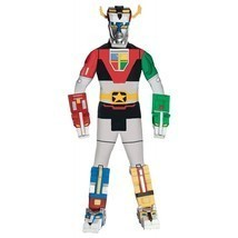 Deluxe Voltron Force Lions Adult Costume Free Shipping - £28.42 GBP