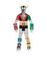 Deluxe Voltron Force Lions Adult Costume Free Shipping - £28.84 GBP