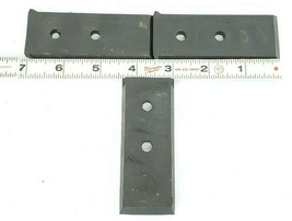 LOT OF 3 NEW OKUMA H1023-0025-18 WIPERS LU45 LOWER CLOSS-SLIDE (BACK PLATE RIGHT image 1