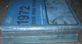 1972 ford f100 250 350 bronco truck trucks shop service repair manual set - $157.16