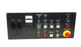FANUC A05B-2045-C122 OPERATOR PANEL W/ A20B-1003-0040/02B BOARD, TH1346 METER image 1