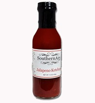 SouthernAirs Jalapeno Ketchup / famous spicy ketchup condiment / 15 ounce