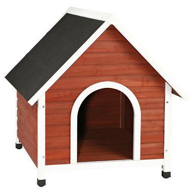 Trixie Nantucket Dog House, Brown (Medium or Large)