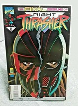 Night Thrasher Final Issue Marvel Comics Issue 21 April 1995 - £1.10 GBP