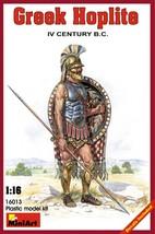 Miniart Models - 16013 - Greek Hoplite IV Century B.C. - 1/16 - $17.99