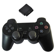 New Black Wireless Shock Game Controller for Sony PS2 Free Shipping - $15.99