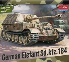 Academy 13537 German Elefant Sd.kfz.184 Tank Plastic Hobby Model Kit image 2