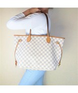 Louis Vuitton Damier Azur Neverfull MM Shoulder bag - $799.00