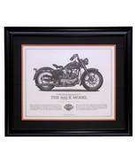 1953 Harley Davidson K Model Framed 16x20 High Quality Print - $138.59