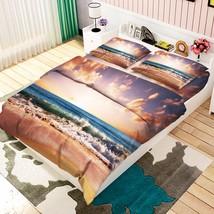 3D Boundless Sea Bed Pillowcases Quilt Duvet Cover Set Single Queen King Size AU - $64.32+