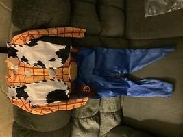 *No Hat* Kids' Disney Toy Story Woody Halloween Costume Jumpsuit S (4-6) - $10.25