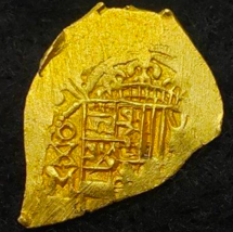 MEXICO 1707 DATED ESCUDO 1715 FLEET SHIPWRECK TREASURE PIRATE GOLD COINS... - $9,950.00