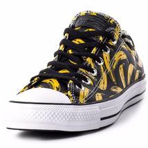 Converse Andy Warhol Chuck Taylor Lo Ox Leather Banana Velvet Underground BLACK image 3