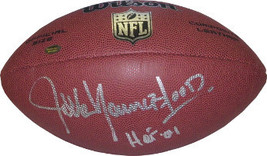 Jack Youngblood signed NFL Wilson Replica Composite Football HOF 01 (Los Angeles - $81.95