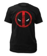 Marvel Deadpool Distressed Logo Men's T-shirt - $23.97