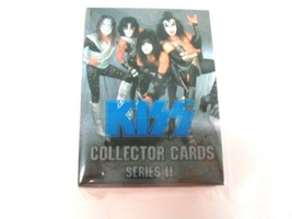 KISS cornerstone Series 2 complete Blue foil card set trading bubblegum ... - $10.89