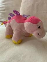 Ganz Webkinz Dinosaur Bubblegumasaurus Pink Plush HM647 New Sealed Code ... - $15.83