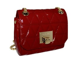 Michael Kors Women's Vivianne Shoulder Flap Bag Cherry MSRP: $348.00 - $178.19