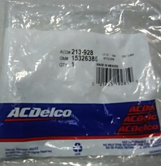 1 yr warranty 1998-1999 CADILLAC CONCOURS DEVILLE ACDelco Fuel Pump