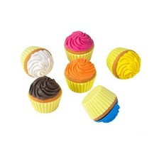 Scented Cupcake Erasers (24 Pack) Assorted Colors - $8.54