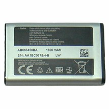 Samsung AB663450BZ Battery for Samsung Rugby & Convoy Flip Phones - $8.79