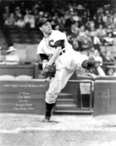 Bob Feller 8X10 Photo Cleveland Indians Baseball Picture Triple Crown - $3.95