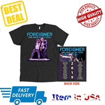 New Shirt Tour Dates 2019 Foreigner Cold As Ice T-Shirt All Size 2 Side ... - $23.99+