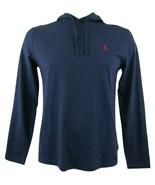 Polo Ralph Lauren Classic Hooded T Shirt Navy Blue Men's Size Medium Ret... - $34.16