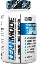 Evlution Nutrition Lean Mode Stimulant-Free Weight Loss Supplement Garci... - $29.95