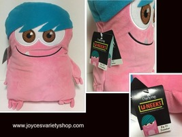 "Hallmark Dweeber (Dweebs) Plush Pillow 17"" x 13"" Pink & Blue I AM U-NEEK - $11.99"