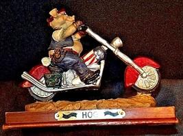 HOG Motorcycle Statue Figurine Replica 305-CVintage image 1