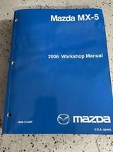 2006 mazda mx-5 mx5 miata workshop service repair manual oem - $143.50
