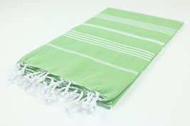 Turkish Towel Fouta Peshtemal Striped Beach Bath Spa Yoga Hammam Gym Pool Towel  - $18.90