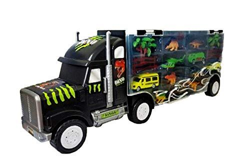 Think Toys Dinosaur Big Carry Truck Car Transportation Vehicle Play Toy Set