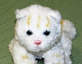 "Gund BOOTSIE CAT 10"" Plush Stuffed Kitty Kitten WHITE Striped Soft TABBY... - $23.38"