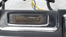 11-15 Nissan Rogue Chrome Tailgate Finish Garnish Panel Handle w/ 360° Camera image 6