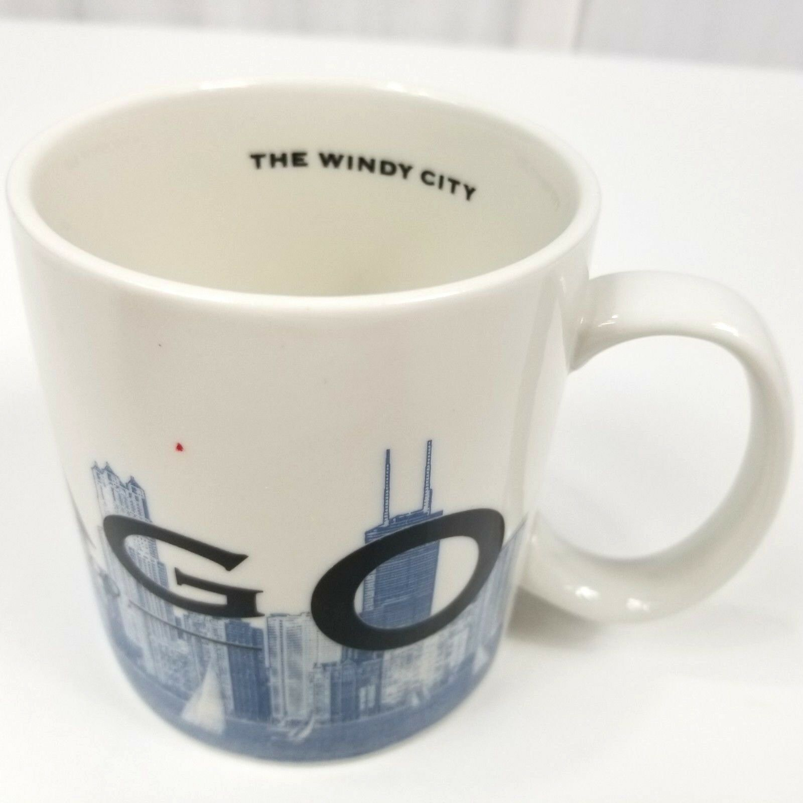 Starbucks Chicago Skyline Series Mug Coffee Cup Tea Large Windy City Barista
