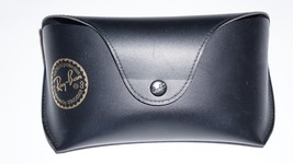 Ray-Ban Smooth Black Case for Glasses Sunglasses EMPTY Case - $9.49