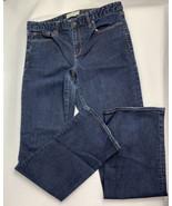 Women's EUC GAP 1969 Perfect Boot Jeans Size 31 Regular Dark Wash - $14.85
