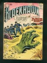 BLACKHAWK COMICS #115 1957-bizarre-DISMEMBERED HAND-DC COMICS-fair FR - $24.83