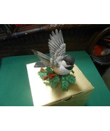 "Great  LENOX Porcelain ""CHICKADEE"" Bird Figure.....FREE POSTAGE USA - $19.39"