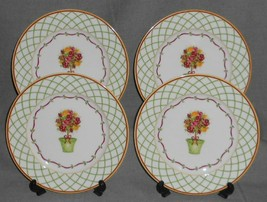 Set (4) St Andrews DOULTON & CO - WINTER FESTIVAL PATTERN Salad Plates - $49.49