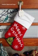 POTTERY BARN MERRY GRINCHMAS STOCKING -NWT- HE'S AS CUDDLY AS A CACTUS! - $49.95