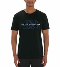 Star Wars Episode 9: Rise of Skywalker Classic Movie Logo Men's Black T-... - $20.84