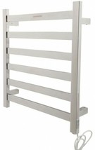 ANZZI Bathroom Electric Towel Warmer Rack 6-Bar Stainless Steel Polished... - $328.64